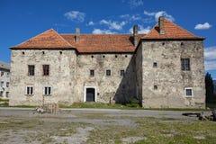 El castillo de Miklosh del santo Chynadieve Zakarpatska Oblast Fotografía de archivo libre de regalías