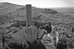 El castillo de Montecchio Fotografía de archivo