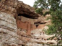 El castillo de Montezuma, Arizona Fotografía de archivo