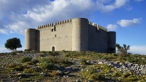 El castillo de Montgri Fotos de archivo libres de regalías