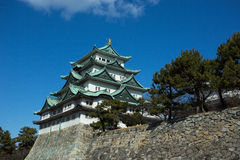 El castillo de Nagoya Foto de archivo libre de regalías