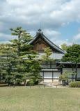 El castillo de Nijo del palacio del flatland en Kyoto Imágenes de archivo libres de regalías