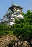 El castillo de Osaka guarda Foto de archivo