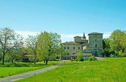 El castillo de Panoccia imagen de archivo