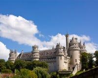 El castillo de Pierrefonds foto de archivo