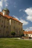 El castillo de Podebrady, checo Fotografía de archivo libre de regalías