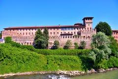 El castillo de Pontevico Imagen de archivo