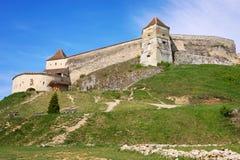El castillo de Rasnov fotos de archivo libres de regalías