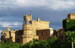 El castillo de rey Fotos de archivo libres de regalías