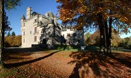 El castillo de Sédières Fotos de archivo