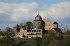 El castillo de Sababurg imagen de archivo libre de regalías