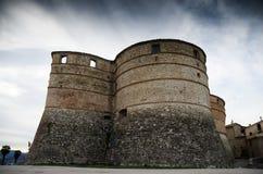 El castillo de Sassocorvaro fotos de archivo