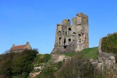 El castillo de Scarborough guarda Fotografía de archivo libre de regalías