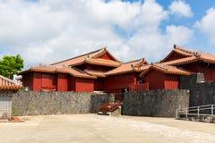 El castillo de Shuri, Naha, Okinawa, Jap?n Uno del castillo del famouse en Okinawa fotografía de archivo libre de regalías