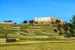 El castillo de Sohail Fotos de archivo libres de regalías