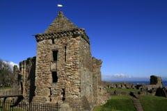 El castillo de St Andrew en Escocia Fotografía de archivo libre de regalías