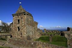 El castillo de St Andrew en Escocia Foto de archivo
