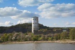 El castillo de Stegeborg en la parroquia de Santa Ana Imagenes de archivo