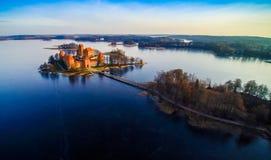El castillo de Trakai Imágenes de archivo libres de regalías