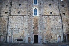 El castillo de Upnor es un fuerte isabelino de la artillería situado en la orilla oeste del río Medway en Kent Fotos de archivo libres de regalías