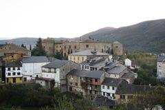 El castillo de Villafranca Fotos de archivo