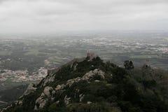 El castillo del amarra, Portugal Imagen de archivo libre de regalías