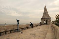 El castillo del pescador en Budapest Fotos de archivo libres de regalías