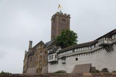 El castillo del ` s de Martin Luther muere Wartburg fotografía de archivo