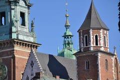 El castillo del wawel en krakov imagenes de archivo