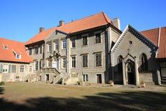 El castillo Eggermuehlen en Baja Sajonia, Alemania Imagenes de archivo