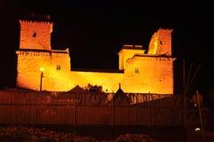 El castillo en Diosgyor, ciudad de Miskolc Foto de archivo