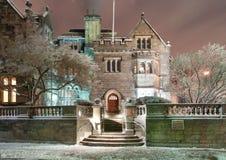 El castillo en la universidad de Boston imágenes de archivo libres de regalías