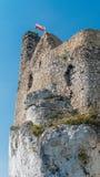 El castillo en Mirow imagen de archivo