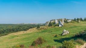 El castillo en Mirow fotografía de archivo
