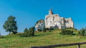 El castillo en Mirow Imágenes de archivo libres de regalías