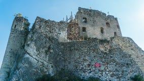 El castillo en Mirow Foto de archivo