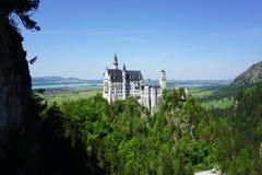 El castillo en Neuschwanstein Fotografía de archivo libre de regalías