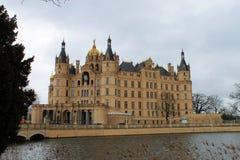 El castillo en Schwerin Fotos de archivo