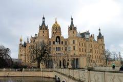 El castillo en Schwerin Fotos de archivo libres de regalías