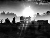 El castillo entonado Fotos de archivo