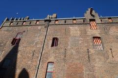 El castillo famoso de Muiderslot fotografía de archivo