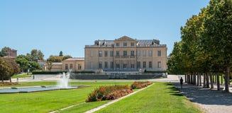 El castillo francés Borely en Marsella en Francia del sur Imágenes de archivo libres de regalías
