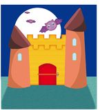 El castillo hechizado Fotografía de archivo