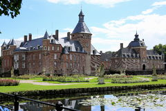 El castillo histórico Anholt, Alemania Foto de archivo libre de regalías
