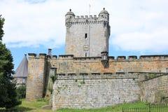 El castillo histórico Bentheim, Alemania Foto de archivo
