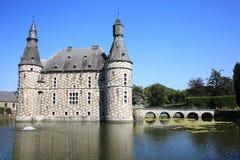 El castillo histórico de Jehay, Bélgica Imagen de archivo libre de regalías