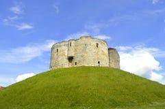 El castillo histórico de York Fotografía de archivo