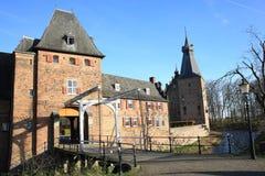 El castillo histórico Doorwerth, los Países Bajos Fotos de archivo