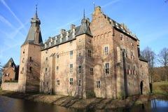 El castillo histórico Doorwerth, los Países Bajos Fotografía de archivo