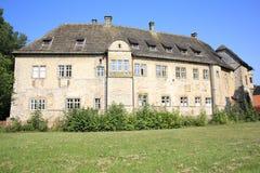 El castillo histórico Dringenberg en Westfalia, Alemania Imagen de archivo libre de regalías